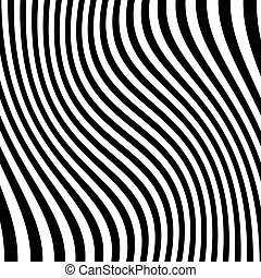 Lines pattern with distortion Abstract geometric...