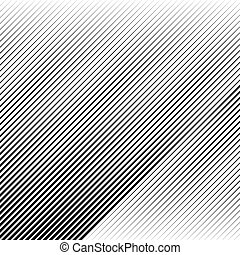 Oblique, diagonal lines edgy pattern, monochrome background