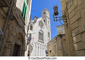View of Giovinazzo Cathedral. Apulia.