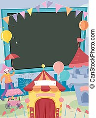 School Fair Carnival Frame