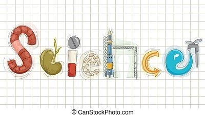 Ciencia, Bosquejo, logotipo