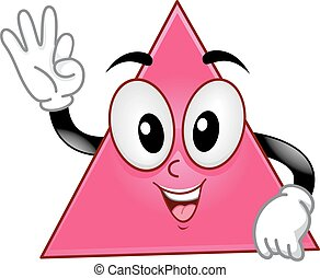 Mascot Polygon Triangle