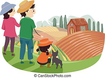 Stickman Family Dog Farm
