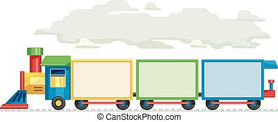 Train Blank Boards - Illustration Featuring of Train...
