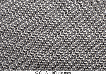 Textured synthetical background - Close up of grey textured...