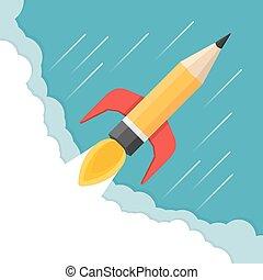 Pencil - Rocket