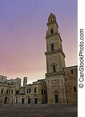 Bell tower Lecce