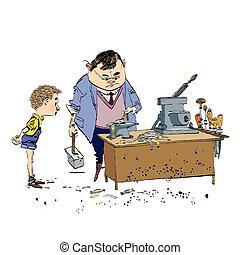 Class work Vector Clipart Illustrations. 1,680 Class work clip art ...