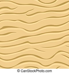 Wavy patterns in the sand - Seamless texture of wavy...