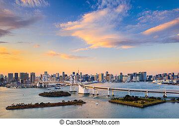 Tokyo Bay Skyline