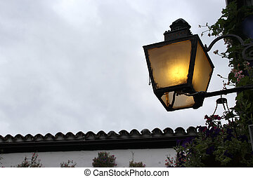 Old andalusian lamp - Creative design of Old andalusian lamp