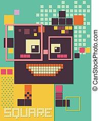 Poster Design Square