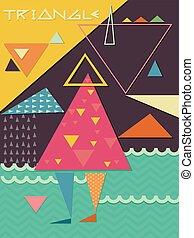 Poster Design Triangle