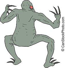 mutant reptile draw