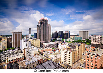 New Orleans Skyline - New Orleans, Louisiana, USA dontown...