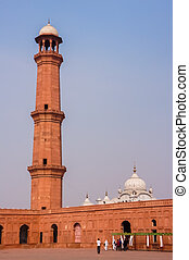 Minaret and Temple