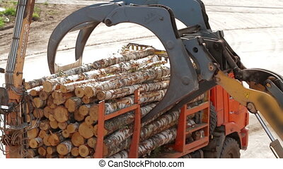 Lumber Heavy Equipment Trucks Loaders and Pickers