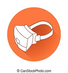 Virtual reality device - This is an illustration of Virtual...