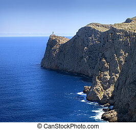 Lighthouse at Cape Formentor