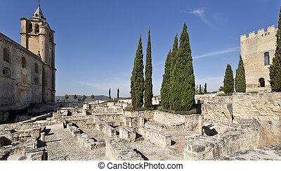 Fortaleza de La Mota - Ruins of the Fortaleza de La Mota...