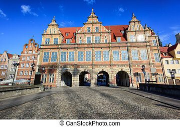 The Green Gate, Gdansk, Poland - The Green Gate, inspired by...