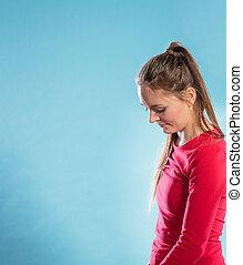 Portrait of lifeguard lifesaver woman - Portrait of...