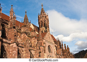 Freiburg Minster in Freiburg, Germany