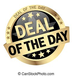 button with text Deal of the day