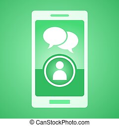 green chat mobile