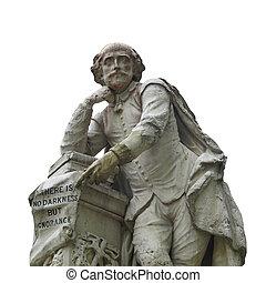 Shakespeare, estátua
