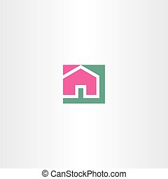 home vector sign symbol icon element