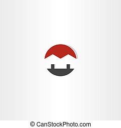 house circle icon home real estate vector logo icon