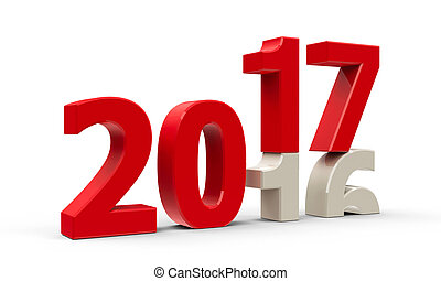 2016-2017 2 - 2016-2017 change represents the new year 2017,...