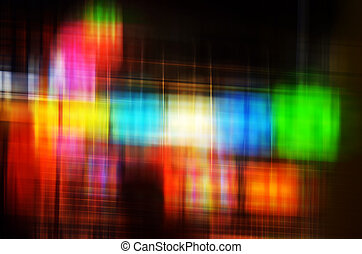 Abstract Colorful blur lights 2