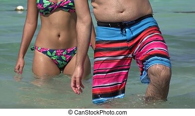 People With Swimwear Or Bathing Suits