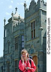 View of Vorontsovsky Palace Crimea - View of Vorontsovsky...