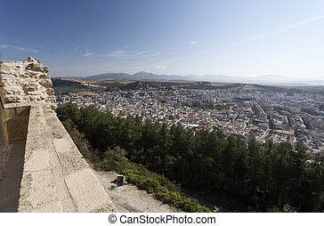 Alcala la Real - The city of Alcala la Real seen from the...