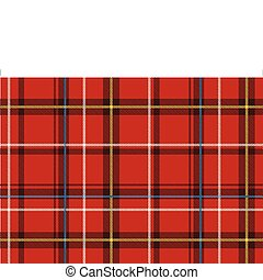 Abstract background - Vector illustration of The Scottish...