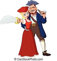 Pirates - Pirate couple
