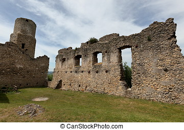 Castle ruin Brandenburg in Germany