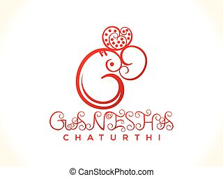 abstract artistic ganesh chaturthi background.eps - abstract...