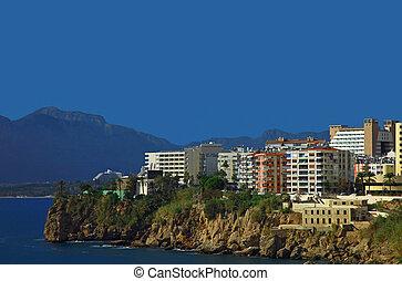 Antalya, Turkey - View of the Antalya, Turkey Day