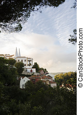 Sintra, Portugal - Sintra town view, Portugal