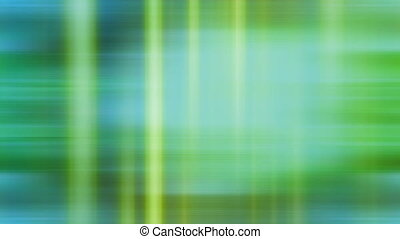 Fast pace abstract streaks loop - Green fast pace abstract...