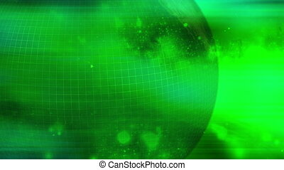 Globe Green abstract backgrounds - Animated Globe Green...