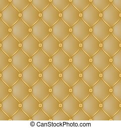 Abstract upholstery dark gold background.