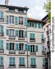 Antique building of France. - Antique building of France in...