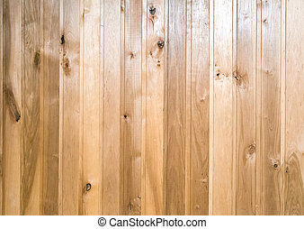 Light brown wooden background - Background image from planks...