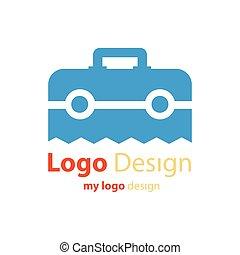 logo design vector bag