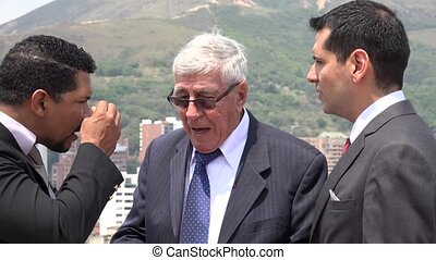 Business Men Arguing Accusing  Disagreeing